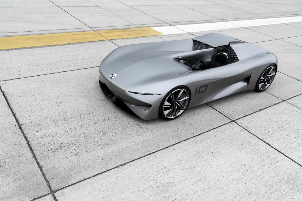 Infiniti S Prototype 10 Is The Rocketeer Of Electric Cars Bloomberg