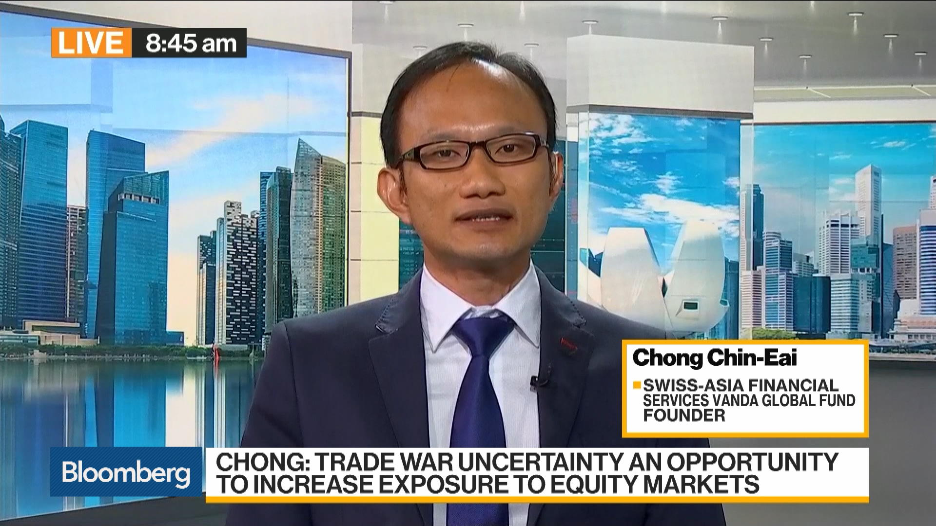 Chong Chin Eai, founder of Swiss-Asia Financial Services' Vanda Global Fund, on Investment Strategy.