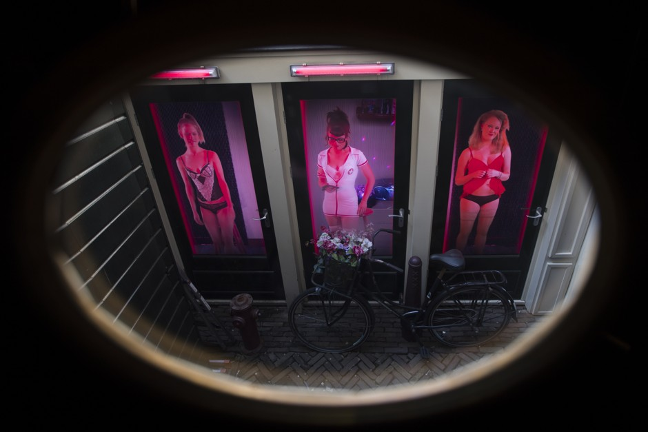 Prostitutes red light district amsterdam