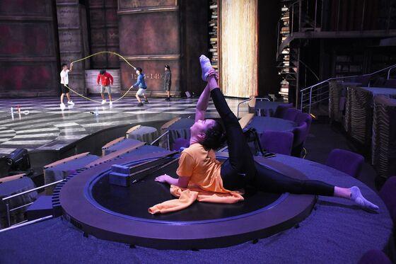 Cirque du Soleil Reopens Vegas Shows in Sign of Vaccine Optimism