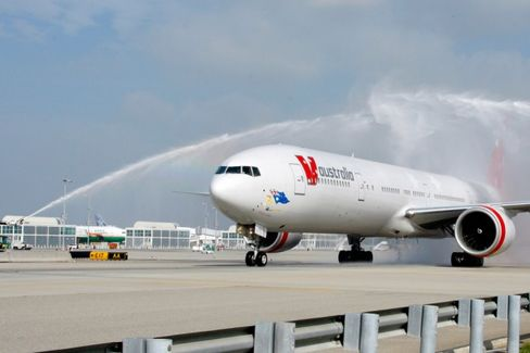 California Drought Curbs Water Cannon Salutes at Airports