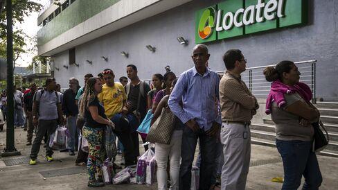 In Line in Venezuela