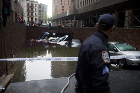 Citigroup Staff Uprooted for Weeks as Sandy Slams Wall Street