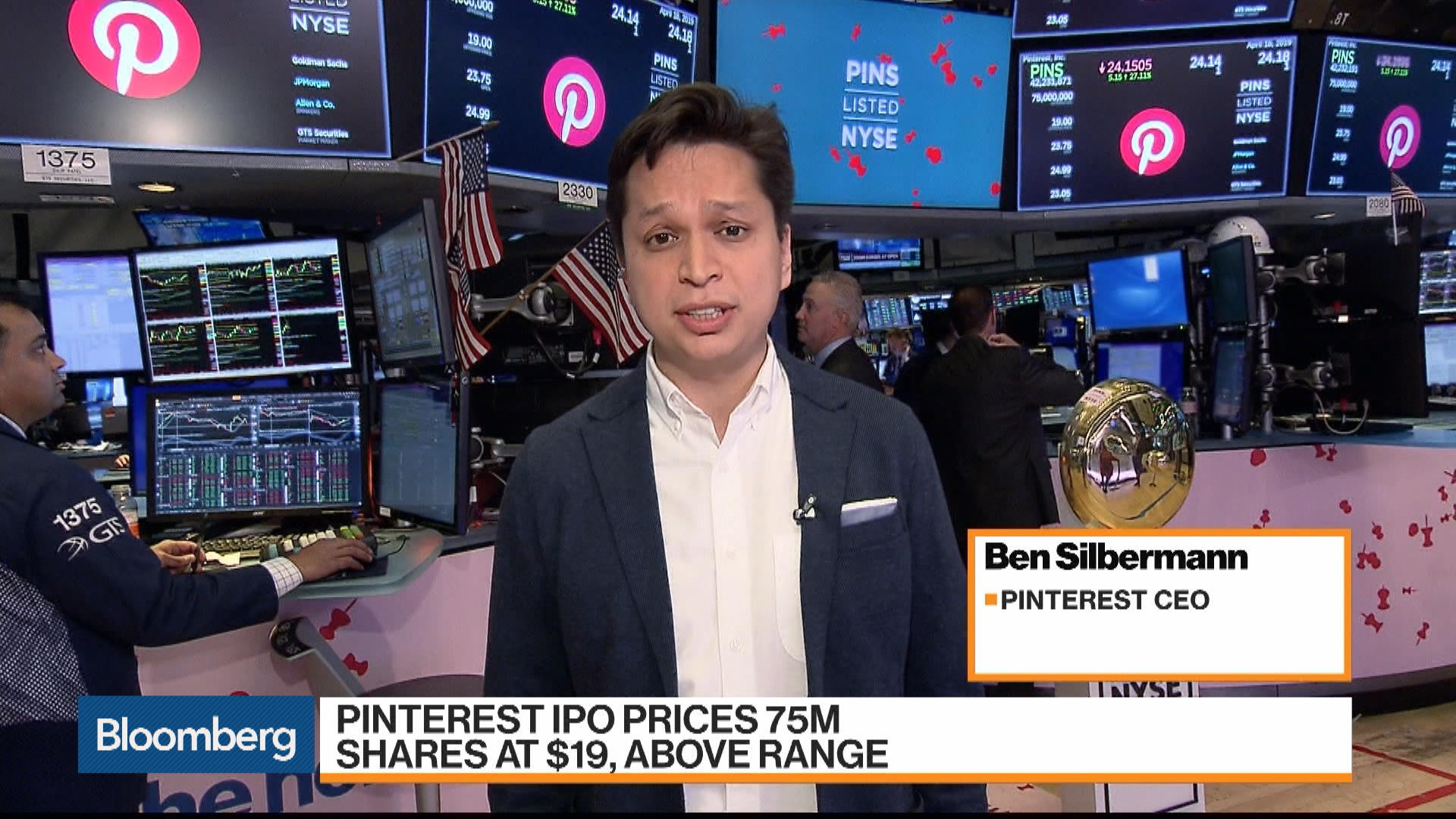 Pinterest CEO Still Sees Room to Grow in U.S.
