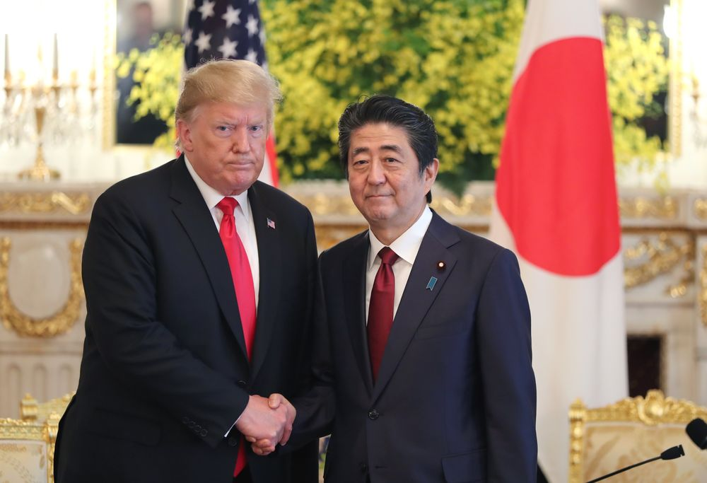 President Trump Eyes August for a U.S.-Japan Deal on Trade