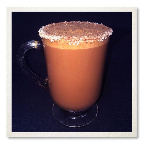Café Adelaide's hot chocolate.