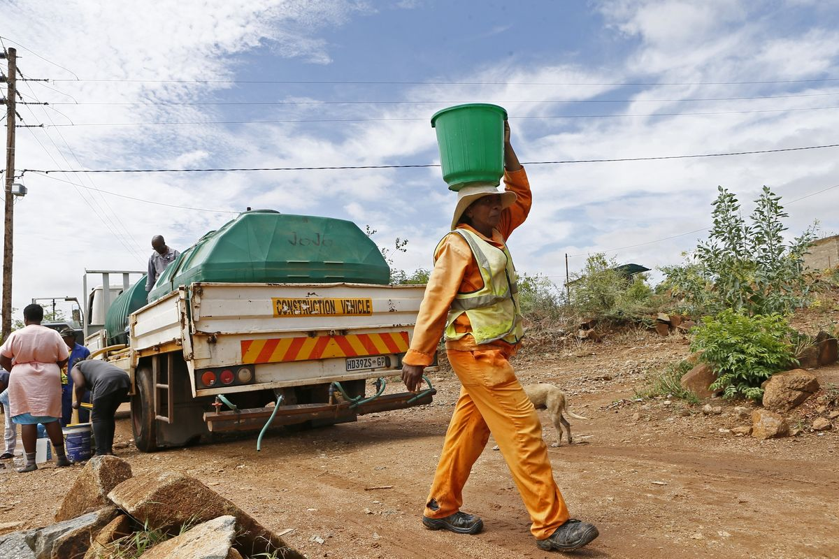 South Africa Unveils $61 Billion Plan to Tackle Water Shortages
