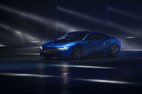 BMW's i8 Plug-In Hybrid Sports Car