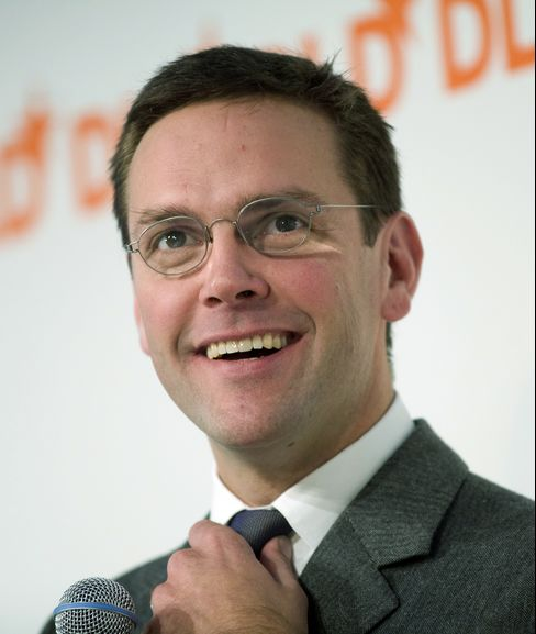 News Corp. Deputy COO James Murdoch