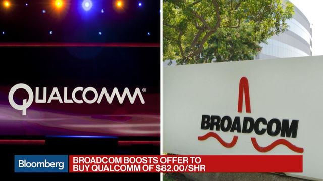 Broadcom submits final $146 billion offer in Qualcomm takeover bid