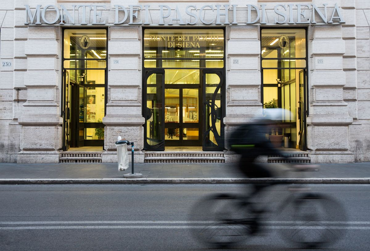 Monte Paschi Capital Wiped Out in European Bank Stress Test