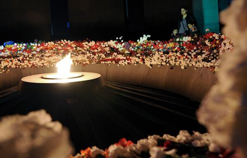 Tsitsernakaberd Armenian Genocide Memorial in Yerevan