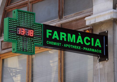 Spanish Drugmakers See Austerity Reducing Sales by 15% 2012