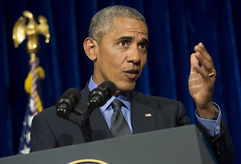 Barack Obama in Laos on Sept. 8.