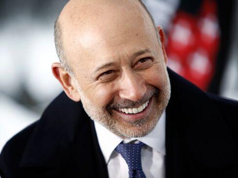 Goldman Sachs Group CEO Lloyd Blankfein.