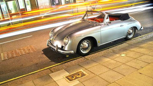 A Porsche 356A Cabriolet in London. The 356 was among the most popular classic car models bought in the United States this year.