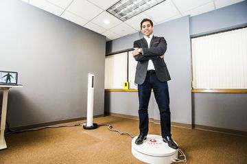 Naj Pareen, CEO of Styku body scanning