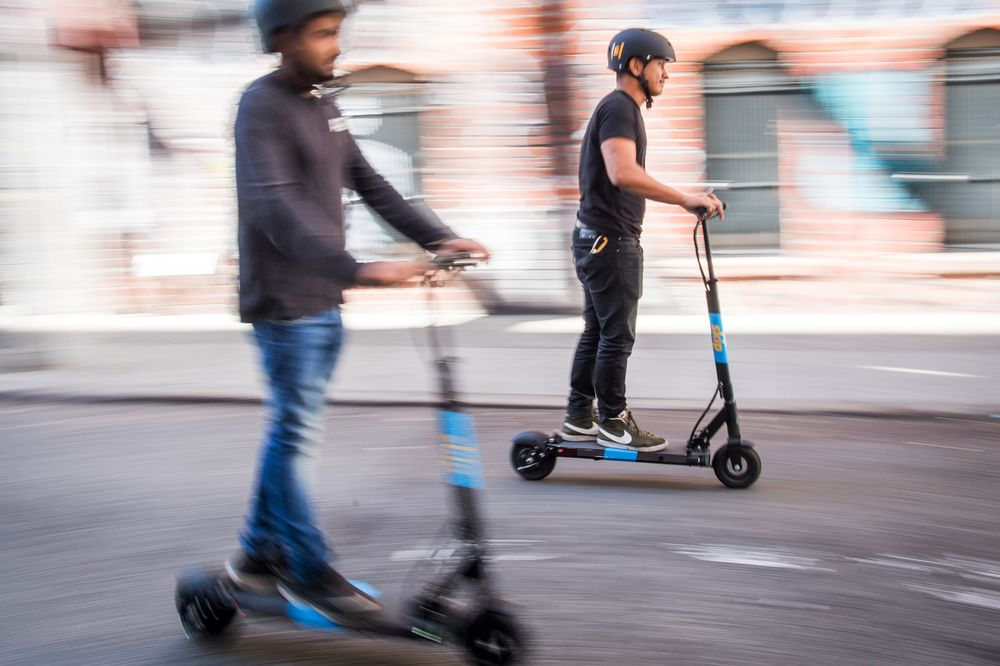 Scooter-Rental Startup Skip Gets $100 Million in Debt