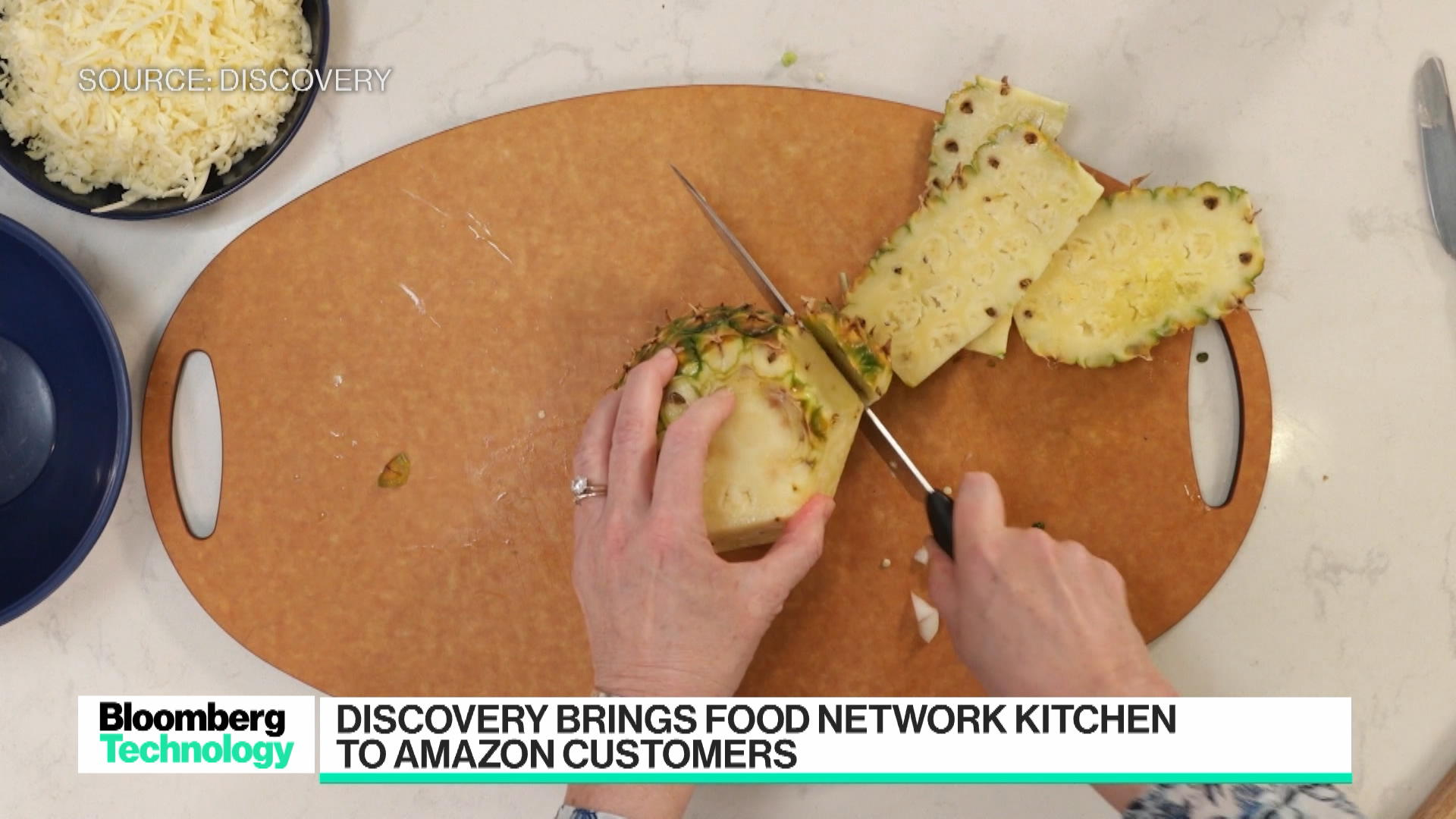 Discovery Brings Food Network Kitchen