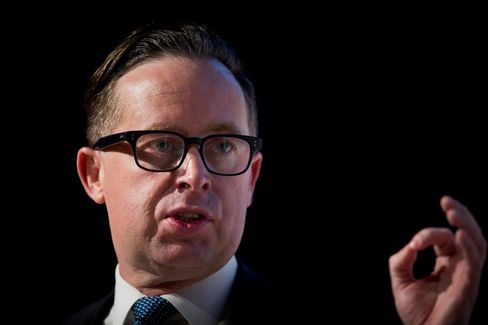 Alan Joyce, chief executive officer of Qantas.