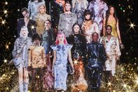 relates to Sick of Sweats, Fashion Designers Go Big on Sparkle for Fall