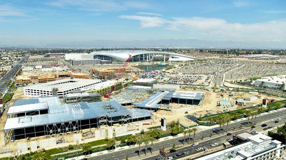 Kroenke and Ballmer Bet on Crowds in Biggest LA-Area Project