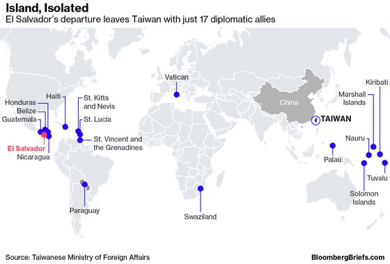Taiwan No U.S. Bargaining Chip in China Fight, Envoy Says