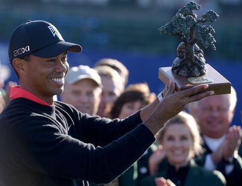 Tiger Woods Opens PGA Tour Season With 4-Shot Torrey Pines Win