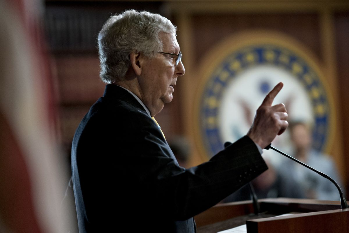 McConnell, Eyeing Legacy, Turns Senate Into Machine for Conservative Judges