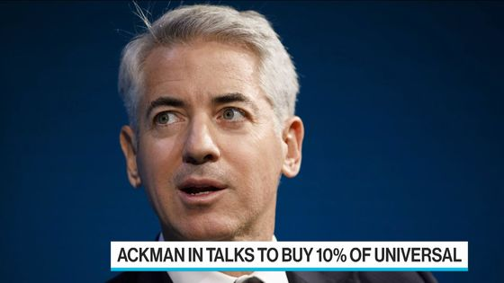 Vivendi in Talks to Sell 10% of Universal Music to Bill Ackman SPAC