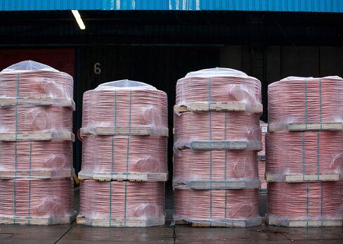 Copper Supply Glut