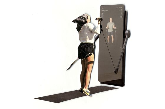 The Latest Fitness-From-Home Mirror Uses AI and Live Trainers