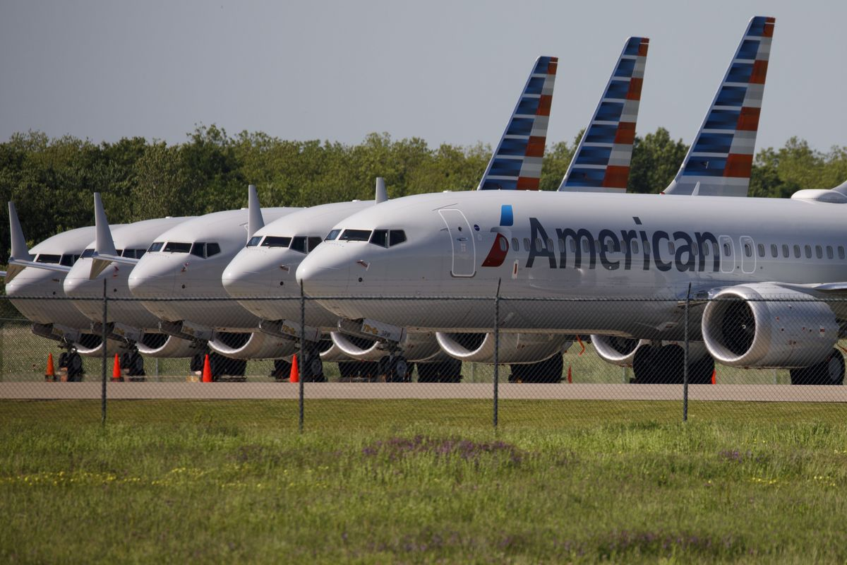American Airlines Group Inc. plans to make Boeing Co. 737 Max passenger flights at the end of this year for the first time since the aircraft's grounding in March 2019.