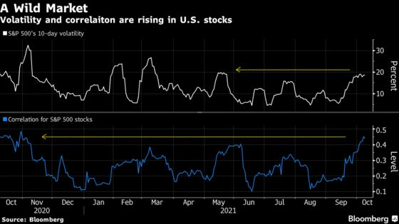 More Stocks Are Moving in Tandem. That's a Troubling Sign for Bulls