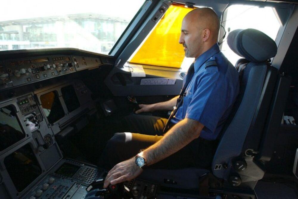 A JetBlue Pilot After Arriving At JFK Airport In New York Photograph By Michael Jones Sacramento Bee Via Zuma Press