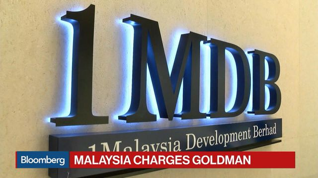 Goldman Sachs Faces First Criminal Charges in 1MDB Scandal