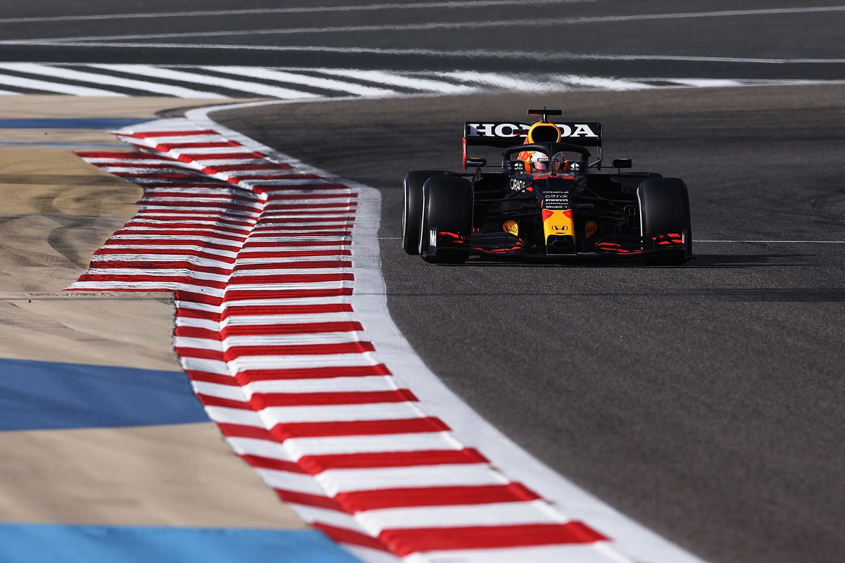 Verstappen Leads Practice for Bahrain GP Ahead of Qualifying thumbnail