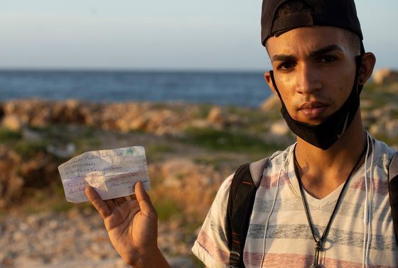 After 15 Hours at Sea, a Cuban Refugee's Dream Is Deferred