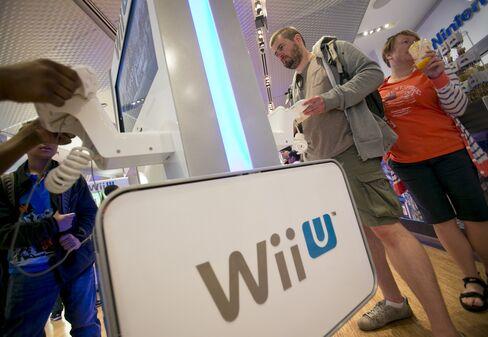 Nintendo Co. Wii U video games