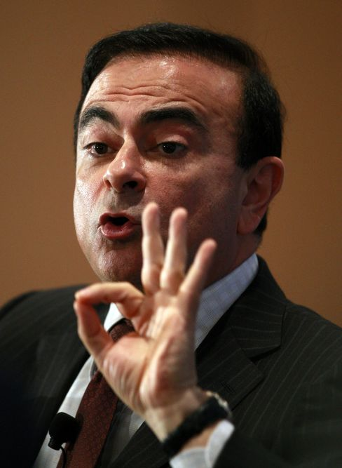 Nissan Motor CEO Carlos Ghosn