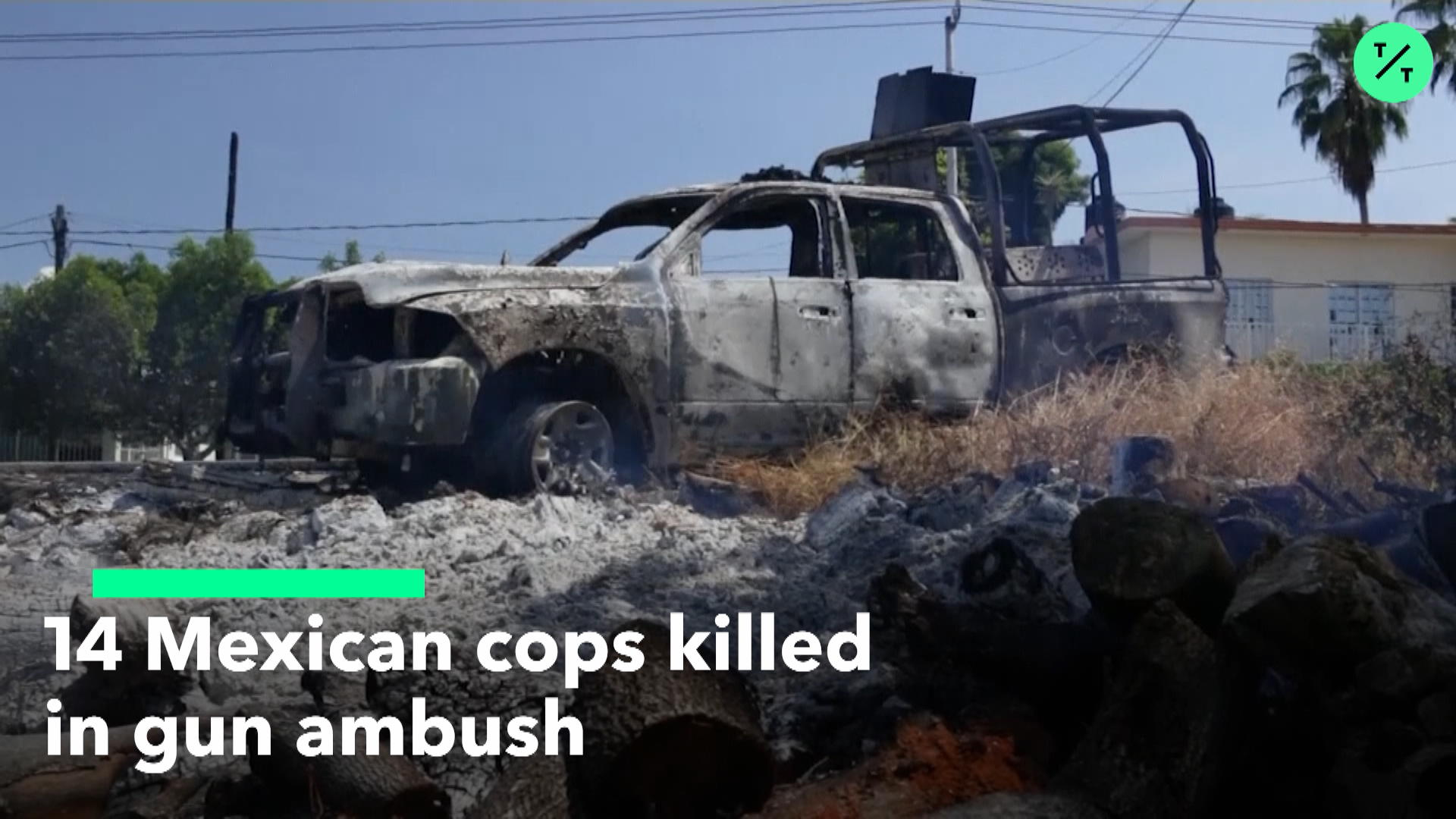 14 Mexican Cops Killed In Gun Ambush