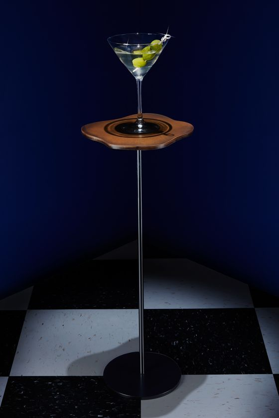 A Table Sized for a Single Drink Is the Home Upgrade You Need