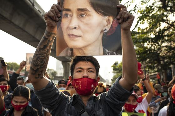 Myanmar's Army Chief Challenges Biden, Bets Big on China
