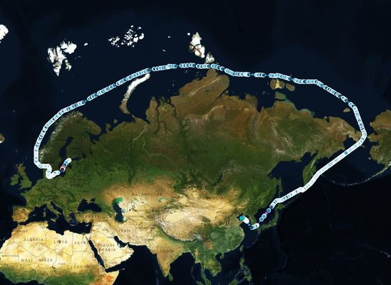 Russia Is Now Sending Its Main Crude Oil Through the Arctic