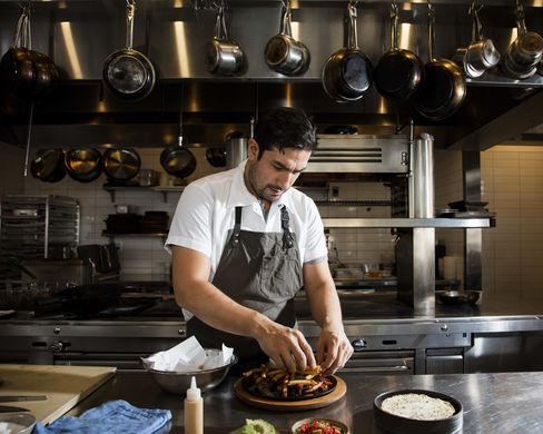 Erik Ramirez, the chef, was raised in a Peruvian family in New Jersey.