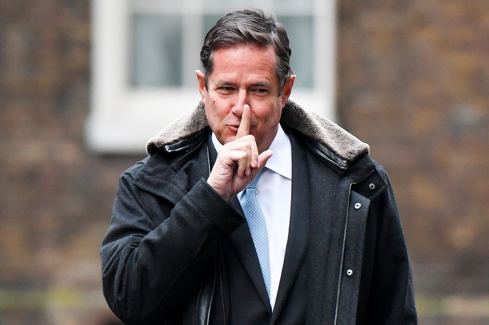 Barclays Boss Jes Staley Looks Toward His Next Big Challenge ...