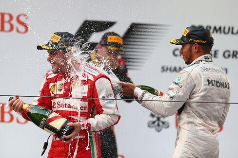 Fernando Alonso & Lewis Hamilton