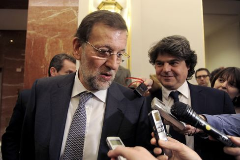 Rajoy Says Spain Future at Stake