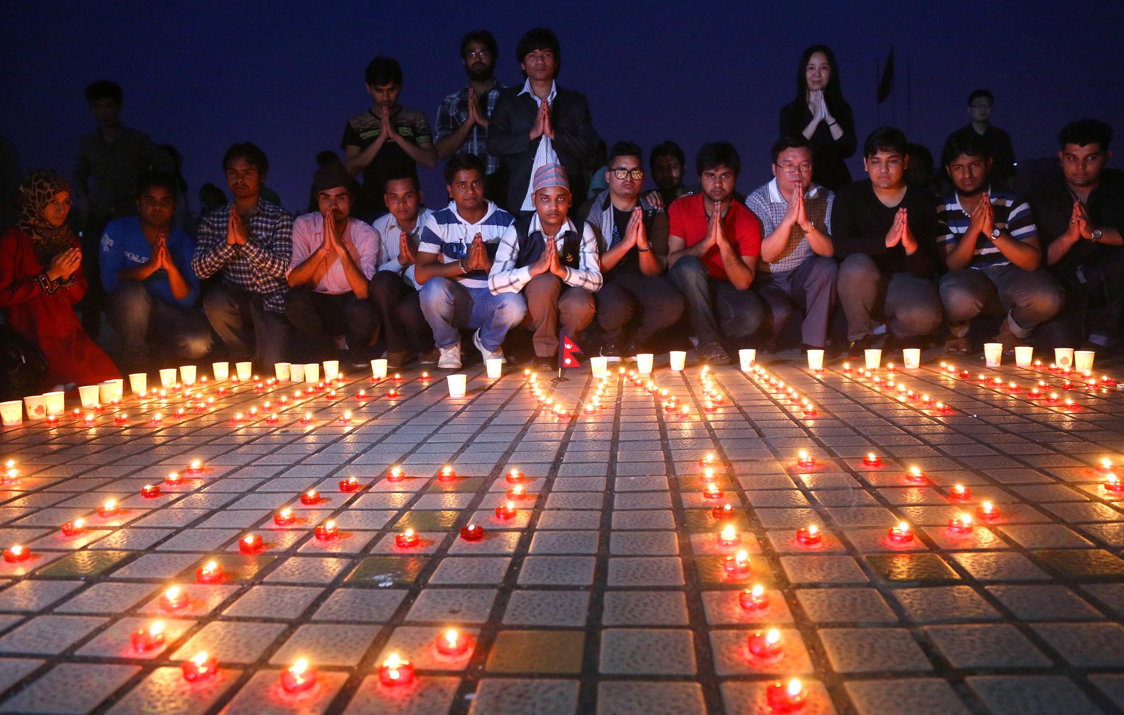 Prayers around the world