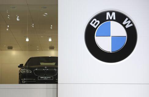 BMW Forecasts Unchanged 2013 Pretax Profit on Europe Market Drop